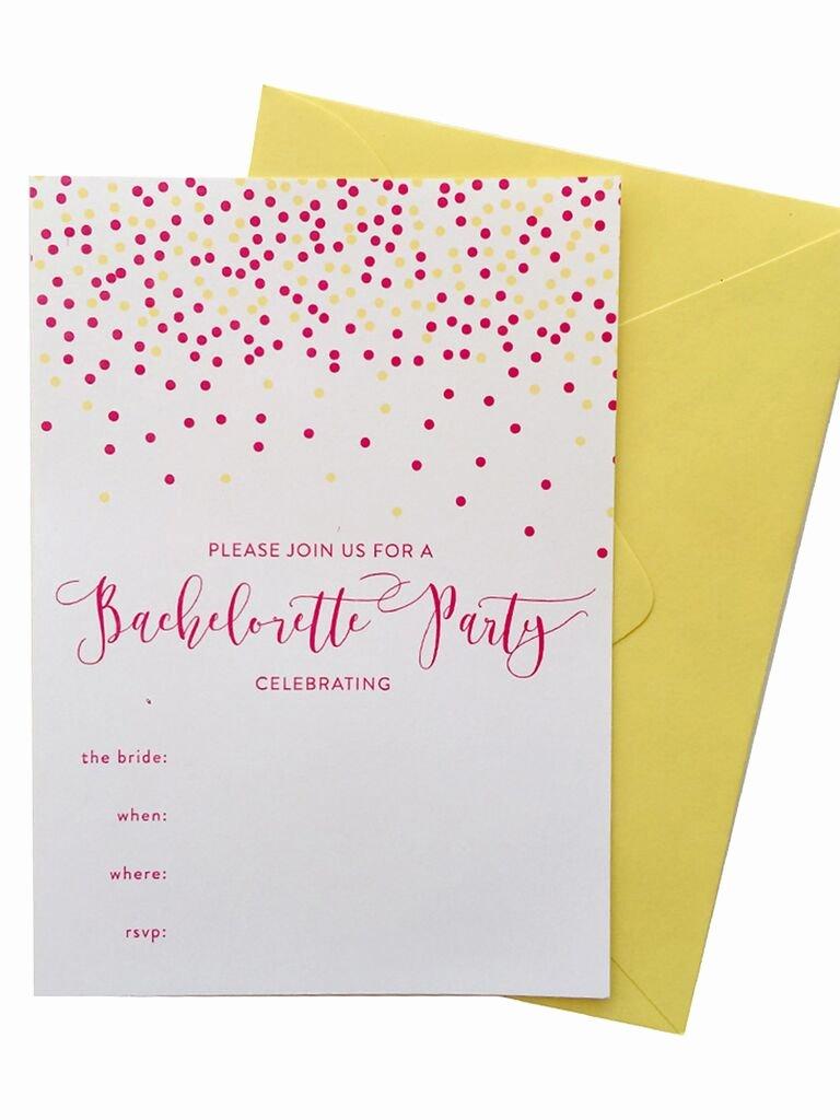Bachelorette Party Invite Template Free Fresh 14 Printable Bachelorette Party Invitation Templates