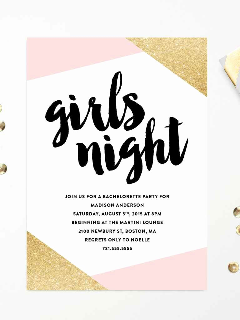 Bachelorette Party Invite Template Free Lovely 14 Printable Bachelorette Party Invitation Templates