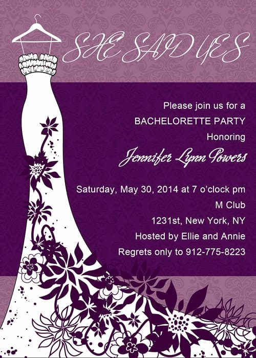 Bachelorette Party Invite Template Free New Bachelorette Party Invitation Download