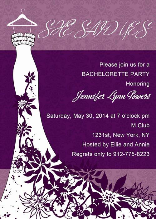 Bachelorette Party Invite Template Free New Bachelorette Party Invitation Download