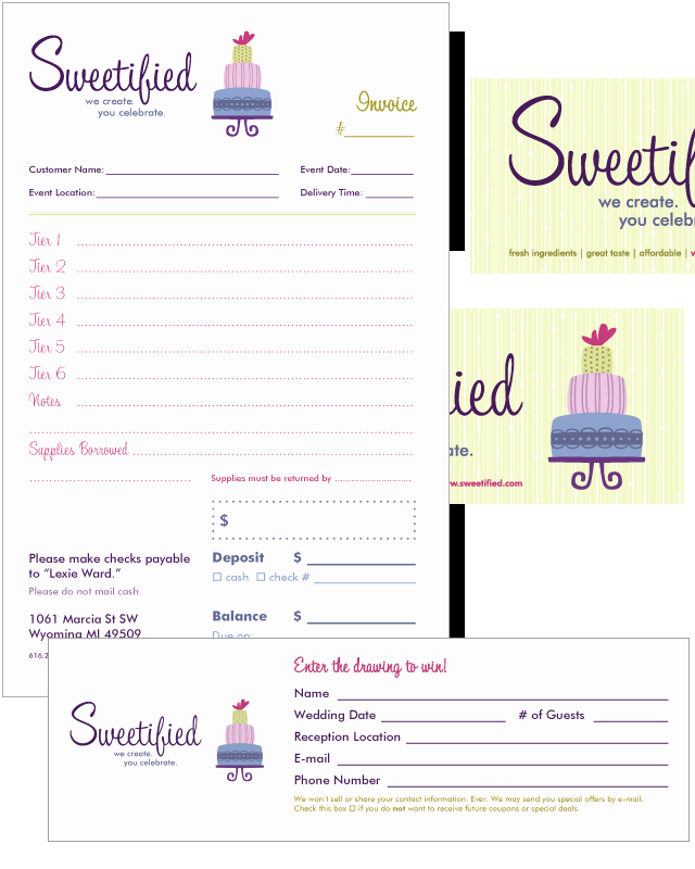 Bakery order form Template Free Beautiful Free Invoice Templates Picture Cake Business