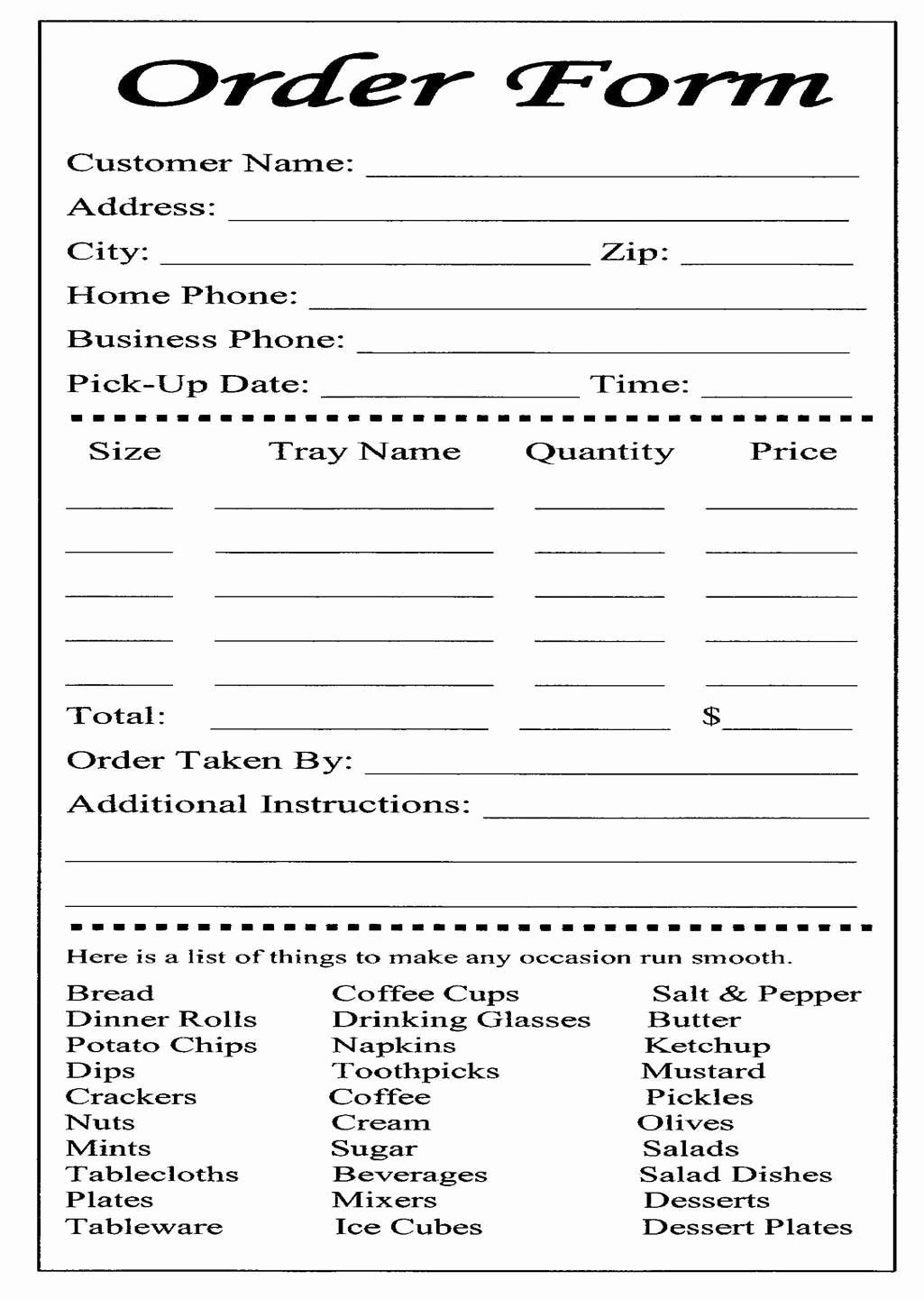 Bakery order form Template Free Elegant Cake Ball order form Templates Free
