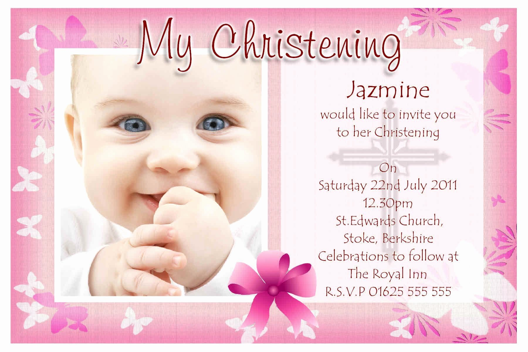 Baptism Invitation Template Free Download Awesome Baptism Invitations Walmart Baptism Invitations