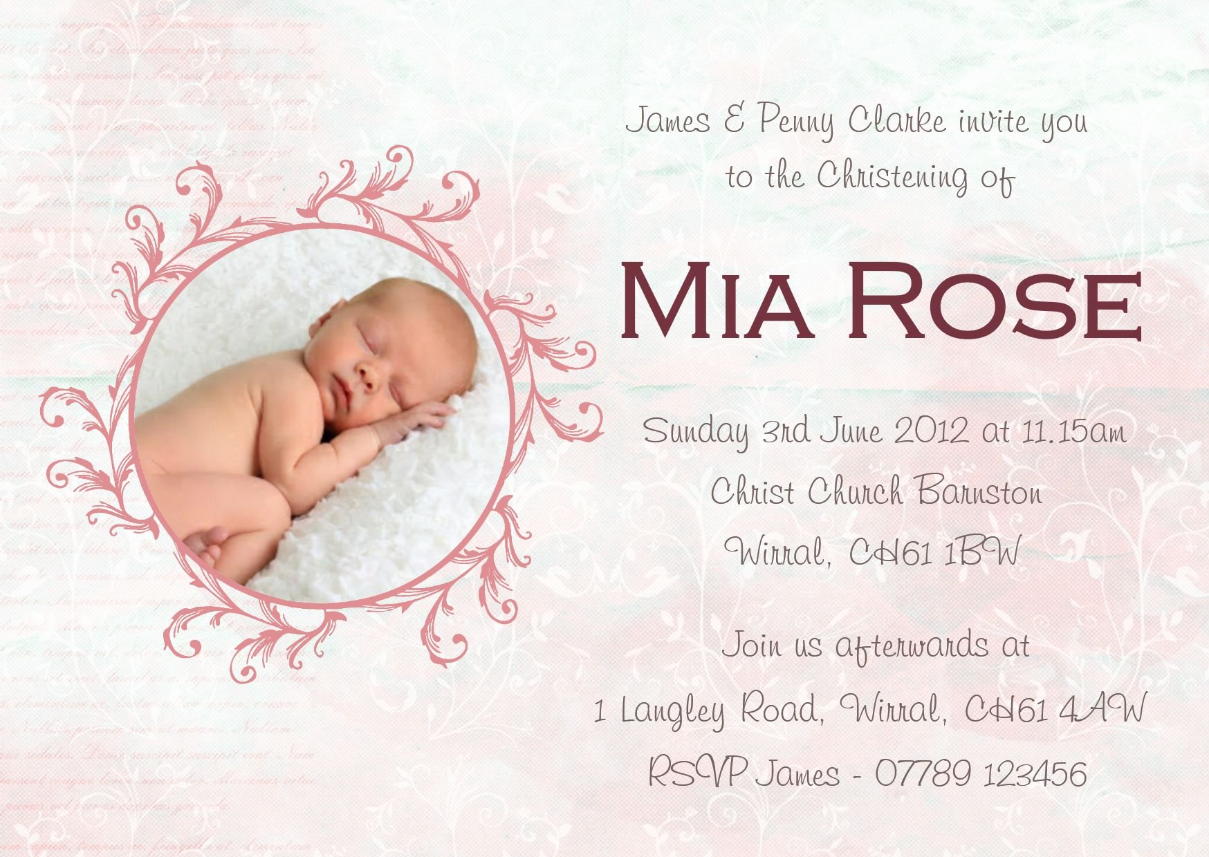 Baptism Invitation Template Free Download Beautiful Baptism Invitation Card Baptism Invitation Cards