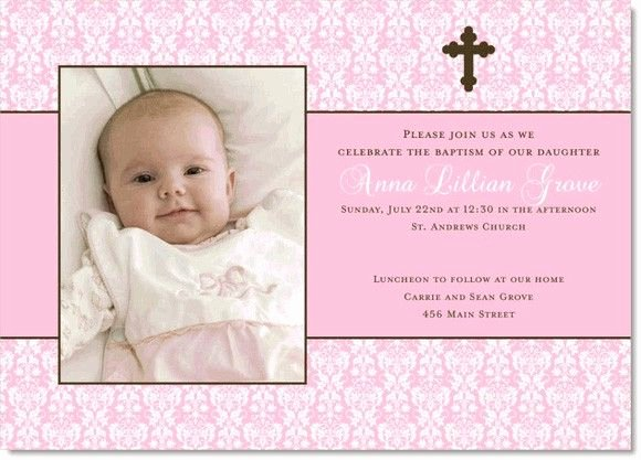 Baptism Invitation Template Free Download Best Of Baptismal Invitation Template for Girls New