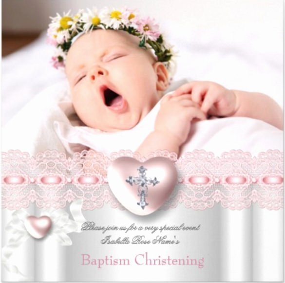 Baptism Invitation Template Free Download Elegant 32 Baptism Invitation Templates Free Sample Example
