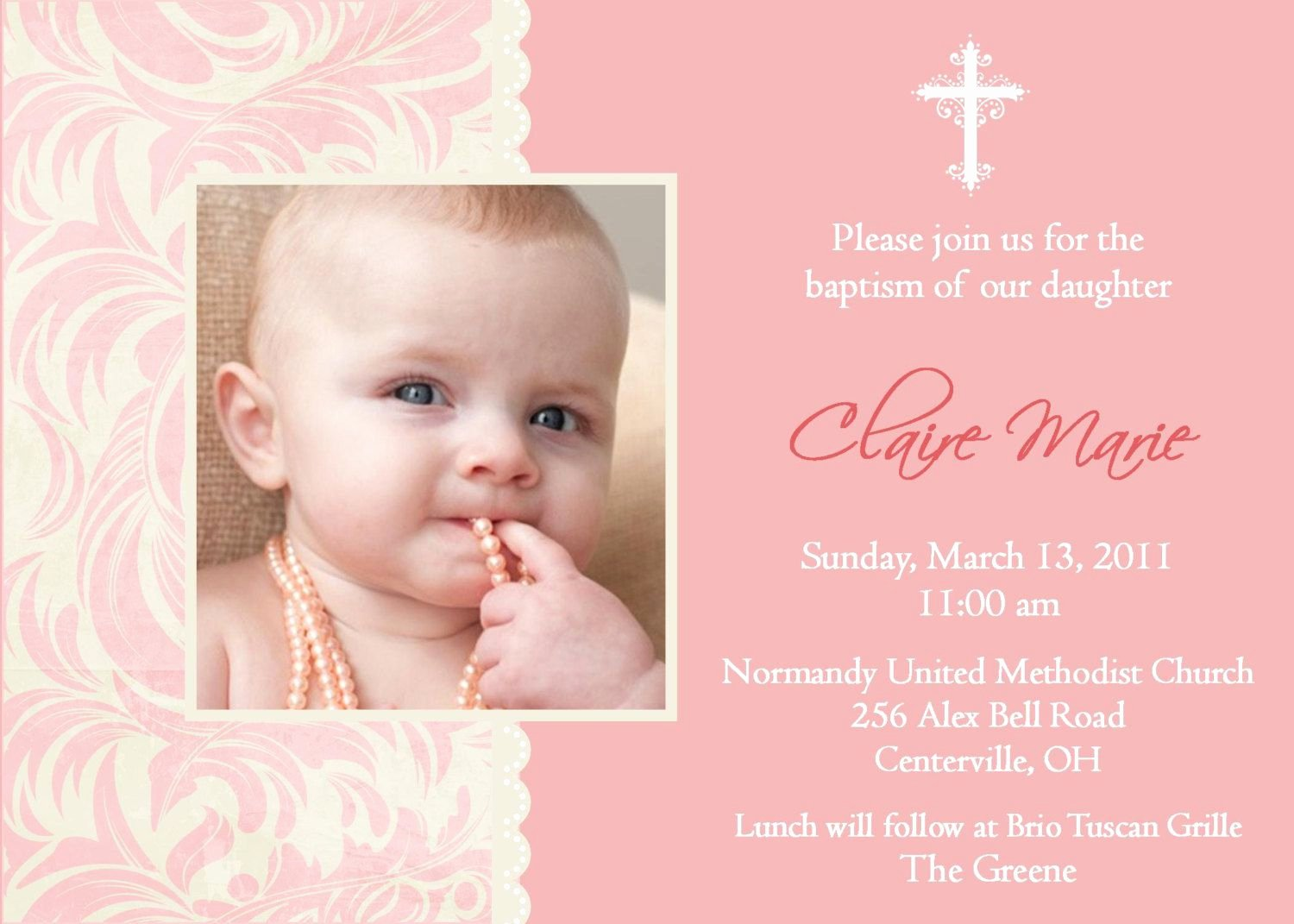 Baptism Invitation Template Free Download Elegant Free Baptism Invitation Template Free Christening