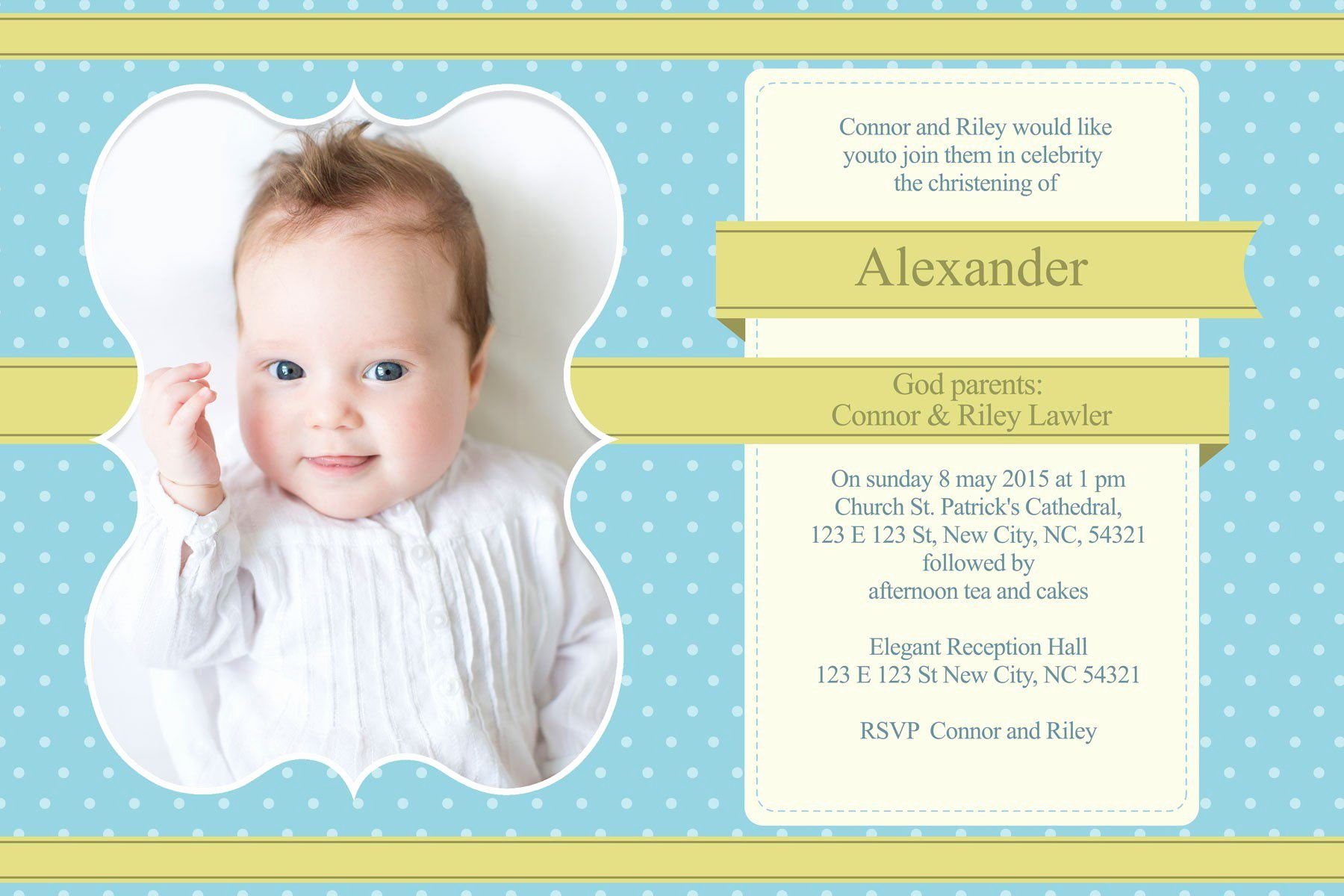 Baptism Invitation Template Free Download Lovely Christening Invitation Christening Invitation Template