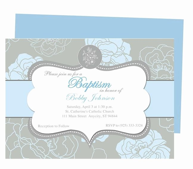 Baptism Invitation Template Free Download Lovely Editable Baptism Invitation Template Free