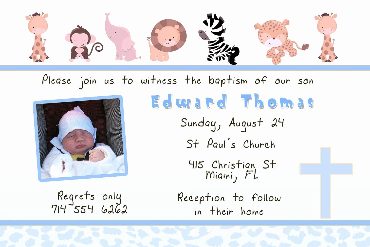 Baptism Invitation Template Free Download Unique Baptism Invitation Card Baptism Invitation Cards
