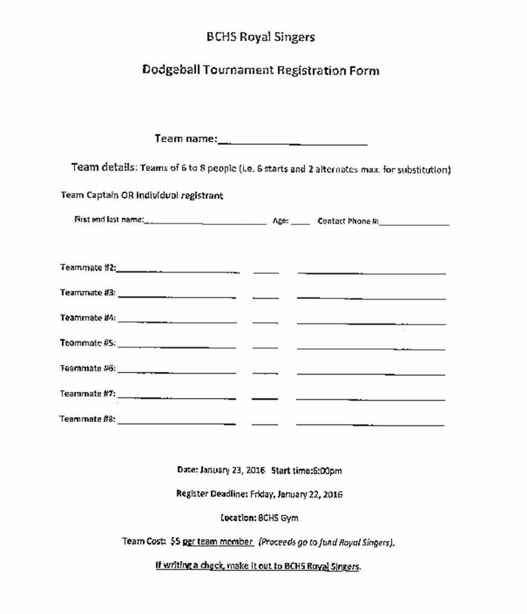 Baseball Registration form Template Elegant Bleckley Progress forms