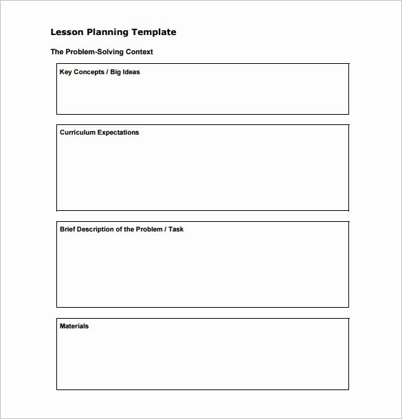 Basic Lesson Plan Template Word Lovely 28 Basic Lesson Plan Template Word