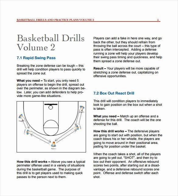 Basketball Practice Plan Template Excel Best Of 11 Basketball Practice Plan Templates Free Sample