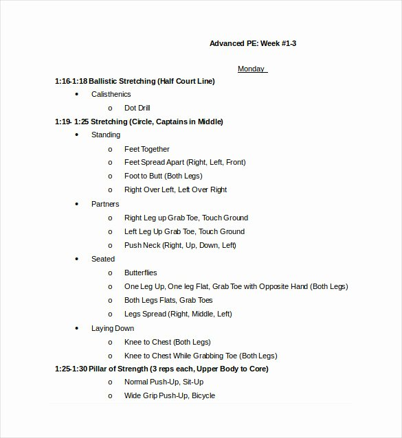 Basketball Practice Plan Template Word Awesome 11 Basketball Practice Plan Templates Free Sample