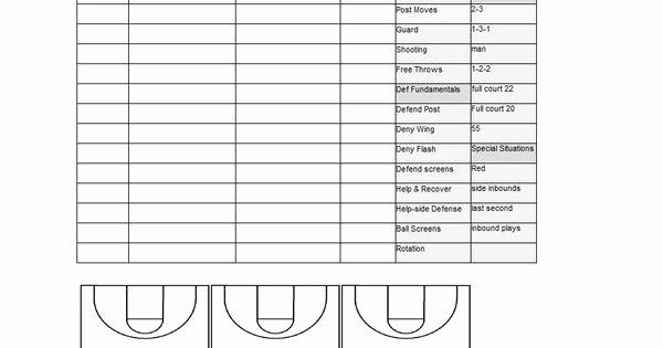 Basketball Practice Schedule Template Beautiful Basketball Practice Plan Template Sample