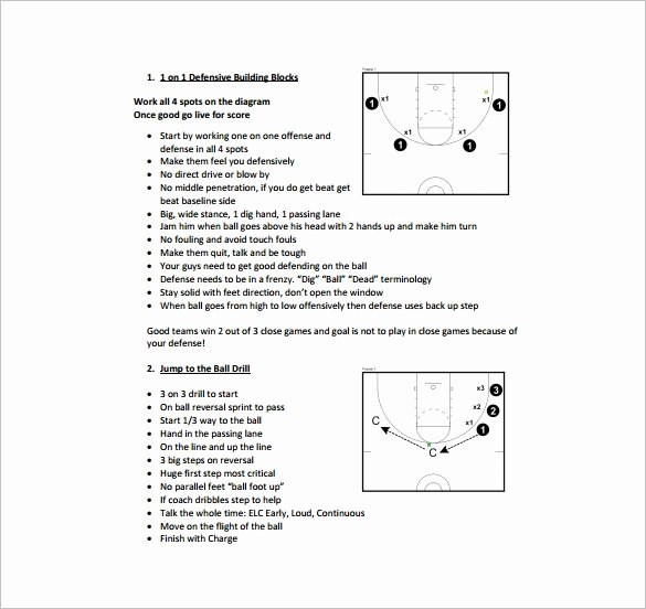 Basketball Practice Schedule Template Luxury Basketball Practice Plan Template 3 Free Word Pdf