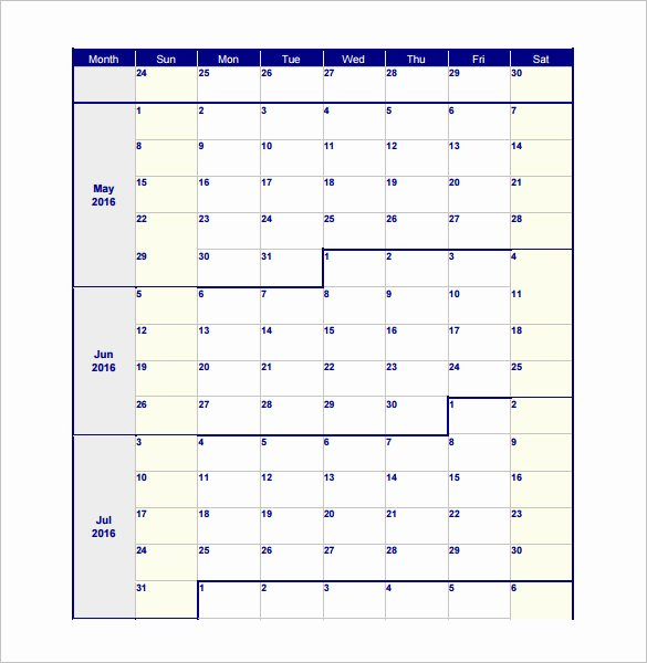 Bi Weekly Work Schedule Template Inspirational 18 Blank Work Schedule Templates Pdf Docs Word