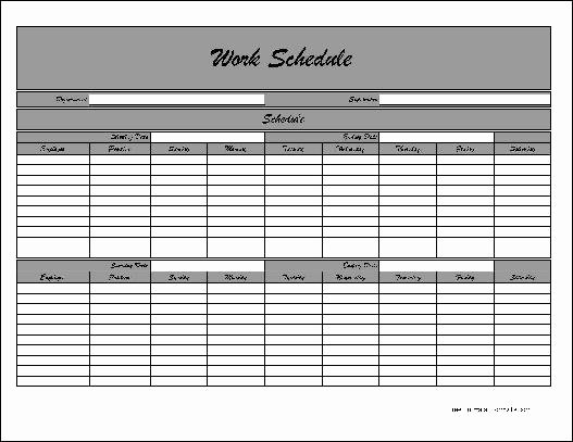 "Bi Weekly Work Schedule Template Inspirational Search Results for ""bi Weekly Work Schedule"" – Calendar 2015"