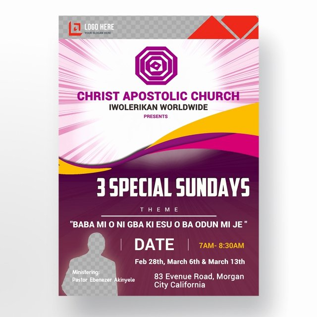 Bible Study Invitation Template Awesome Church Flyer Template for Free Download On Tree