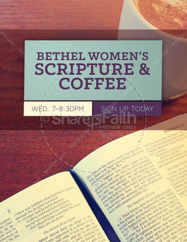 Bible Study Invitation Template Beautiful Women S Bible Study Church Flyer