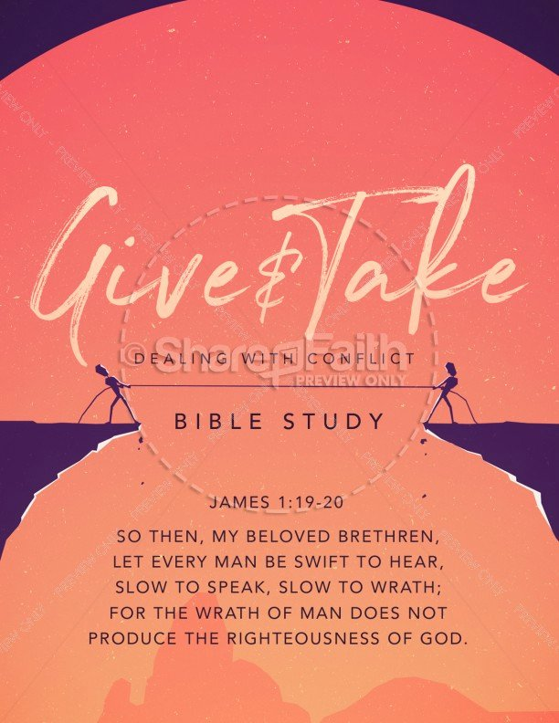 Bible Study Invitation Template Lovely Give and Take Church Flyer