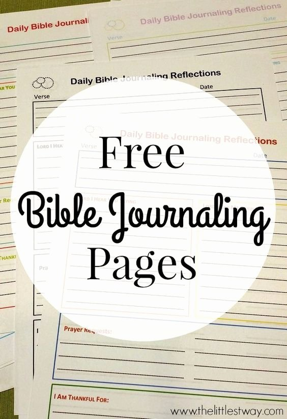 Bible Study Invitation Template Unique Free Bible Journaling Printables