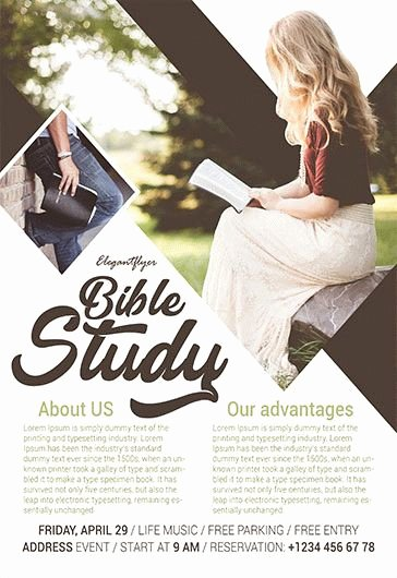 Bible Study Invitation Template Unique Free Psd Flyer Templates