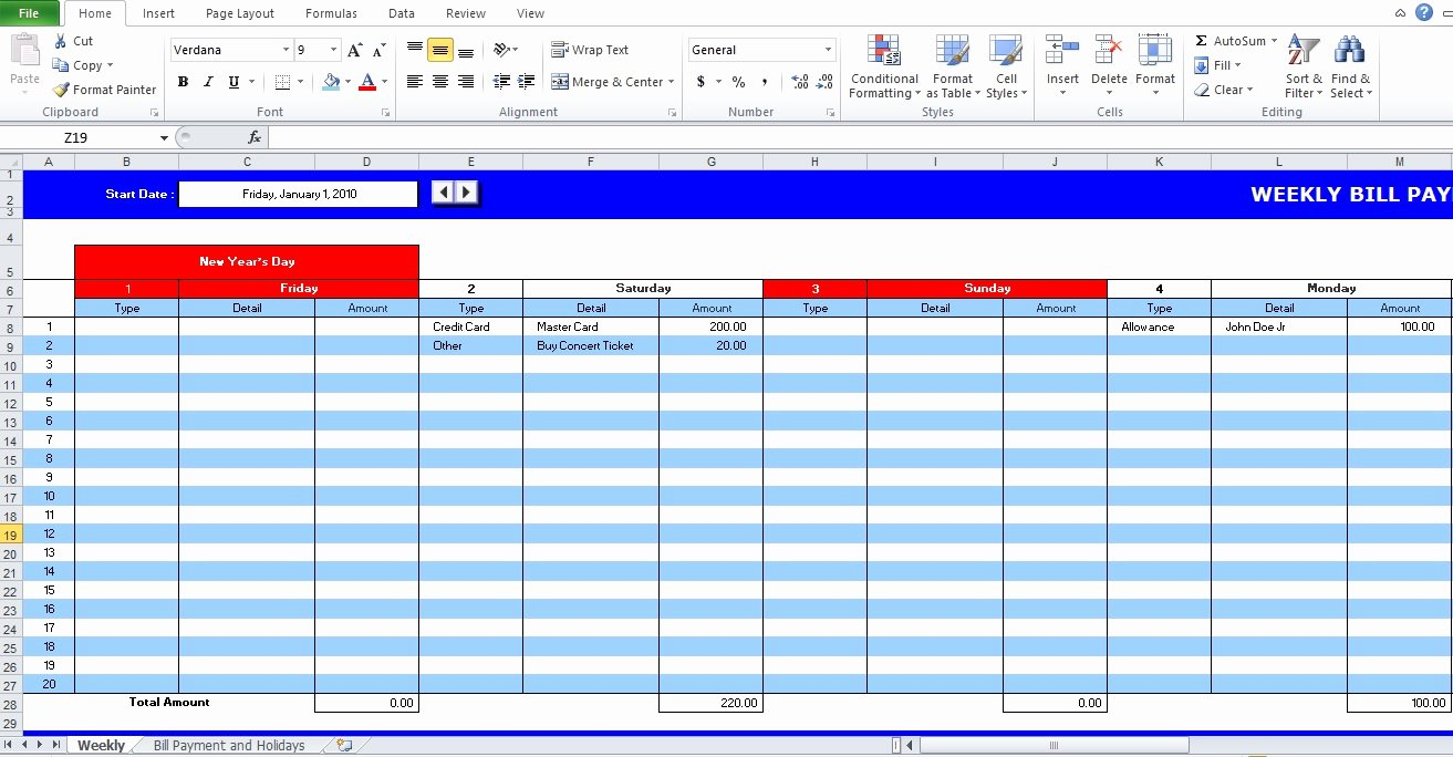 Bill Payment Schedule Template Excel Best Of 5 Bill Payment Schedule Template Pdf & Word Excel Tmp