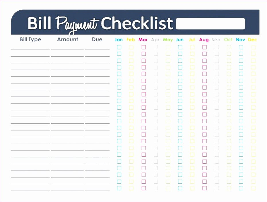 Bill Payment Schedule Template Excel Luxury 6 Payment Template Excel Exceltemplates Exceltemplates