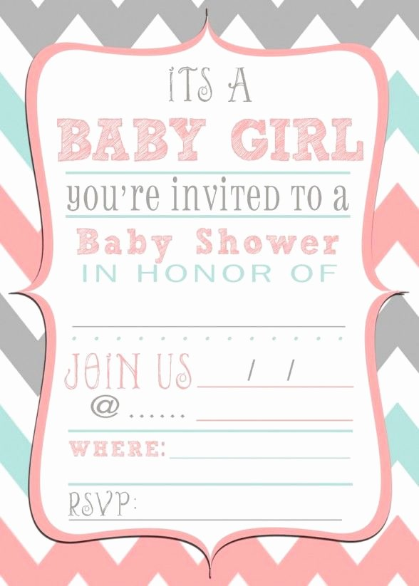 Blank Baby Shower Invitation Template Beautiful Baby Shower Invitations Free Printable Baby Shower