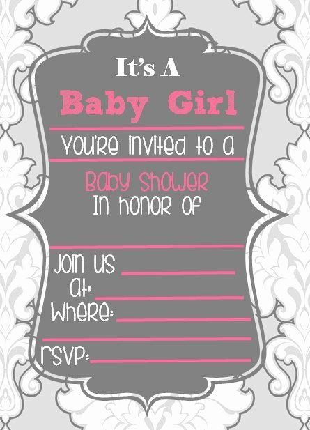 Blank Baby Shower Invitation Template Best Of Cutiebabes Blank Baby Shower Invitations 10