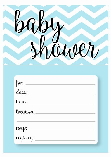 Blank Baby Shower Invitation Template Best Of Printable Baby Shower Invitation Templates Free Shower