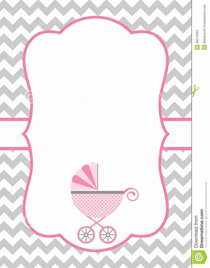 Blank Baby Shower Invitation Template Elegant How to Make A Baby Shower Invitation Template Using
