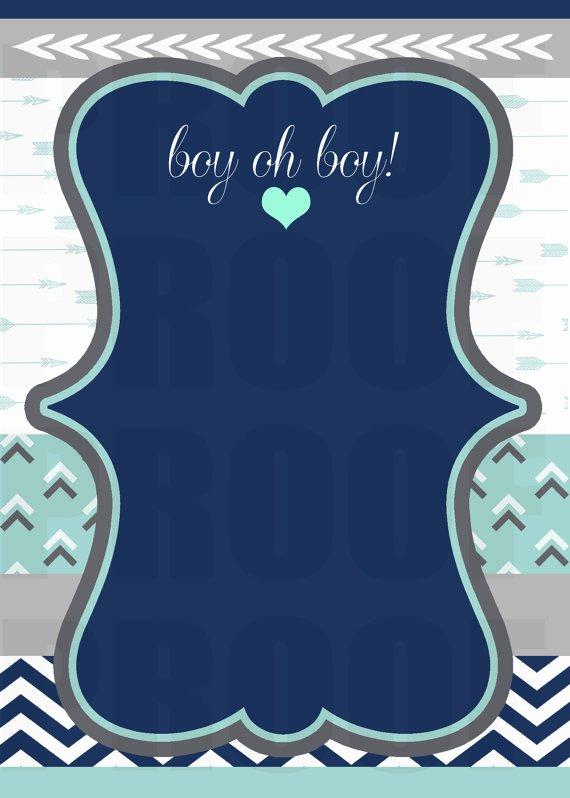 Blank Baby Shower Invitation Template Inspirational Bow & Arrow Baby Shower Invitation Blank Template