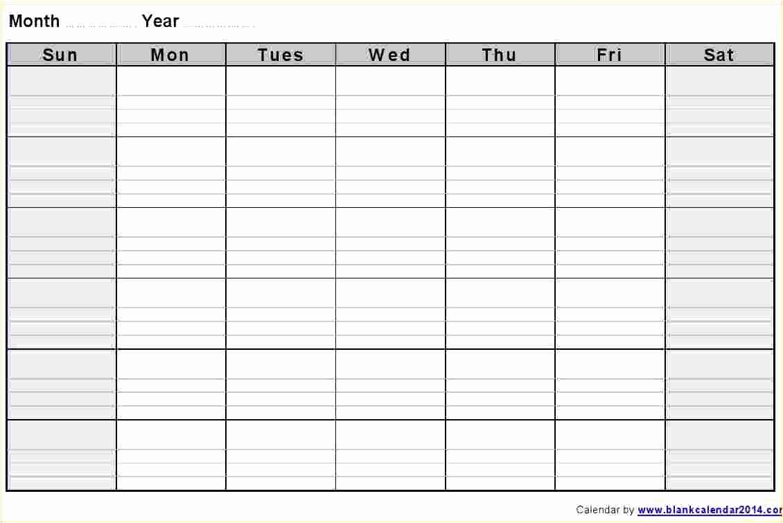 Blank Monthly Schedule Template Unique 32 Helpful Blank Monthly Calendars