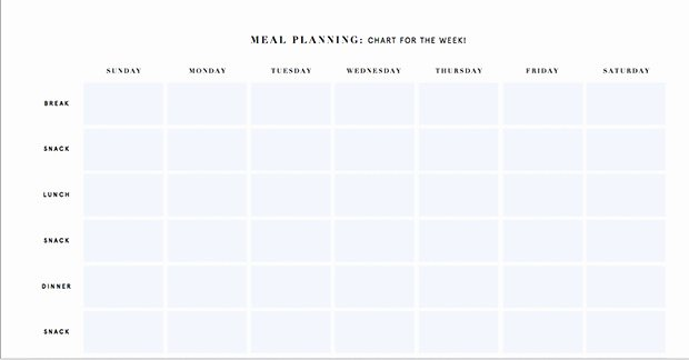 Bodybuilding Meal Planner Template Best Of Meal Plan Template for Weight Loss Program 1709