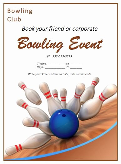 Bowling Invitations Free Template Best Of 56 Best Free Flyer Designs Images On Pinterest