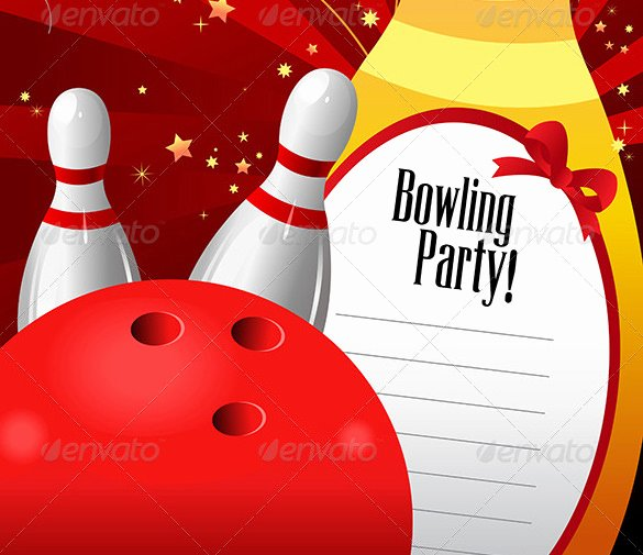 Bowling Invitations Free Template Inspirational 24 Outstanding Bowling Invitation Templates & Designs