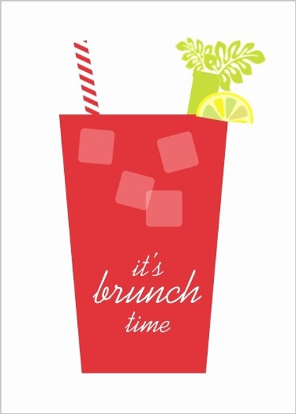 Brunch Invitation Template Free Lovely Bloody Mary Brunch Invitation
