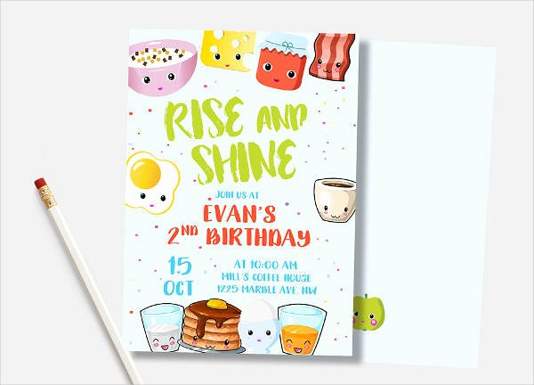 Brunch Invitation Template Free New Breakfast Invitation Email Template Best Invitation In