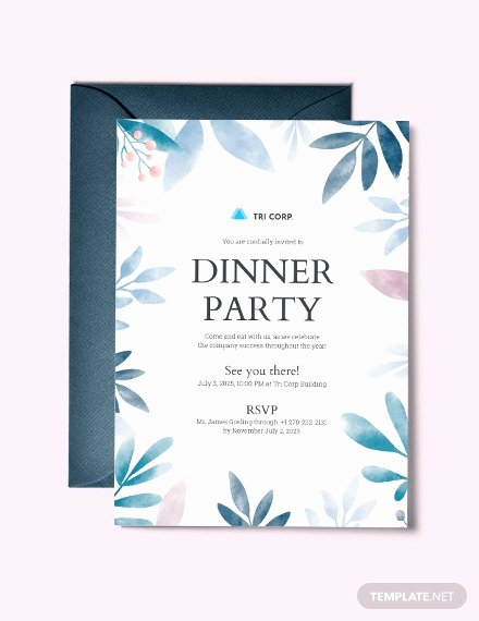 Business Dinner Invitation Template Fresh 28 formal Dinner Invitations Psd Word Ai Publisher
