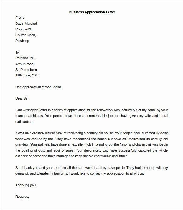 Business Letter format Template Fresh Business Letter format Templates