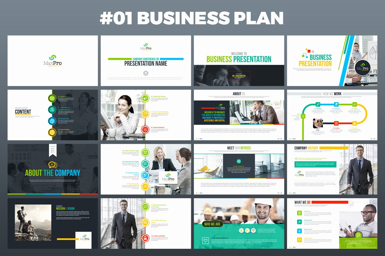 maxpro business plan powerpoint presentation template