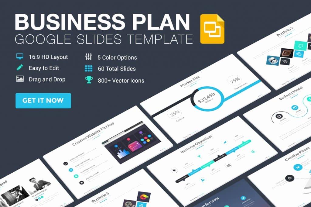 Business Plan Powerpoint Template Elegant 25 Modern Premium Google Slides Templates & themes