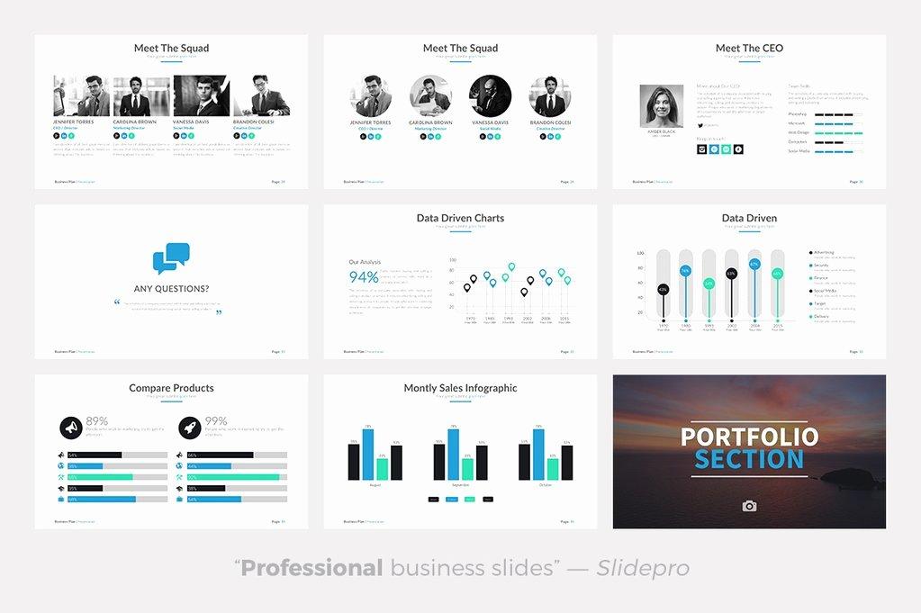 Business Plan Powerpoint Template Elegant Business Plan Powerpoint Template Presentations On