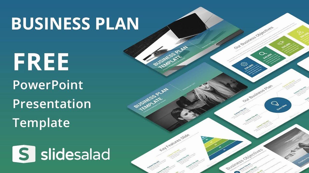 Business Plan Powerpoint Template Fresh Business Plan Free Powerpoint Template Design Slidesalad