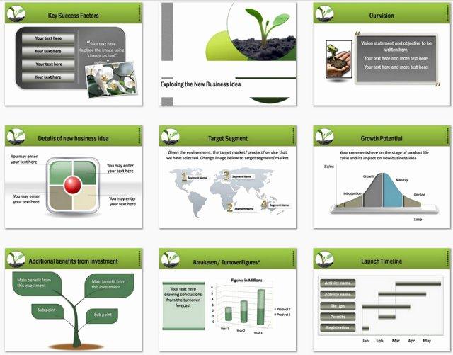 Business Plan Powerpoint Template Fresh Powerpoint Business Plan Growth Template