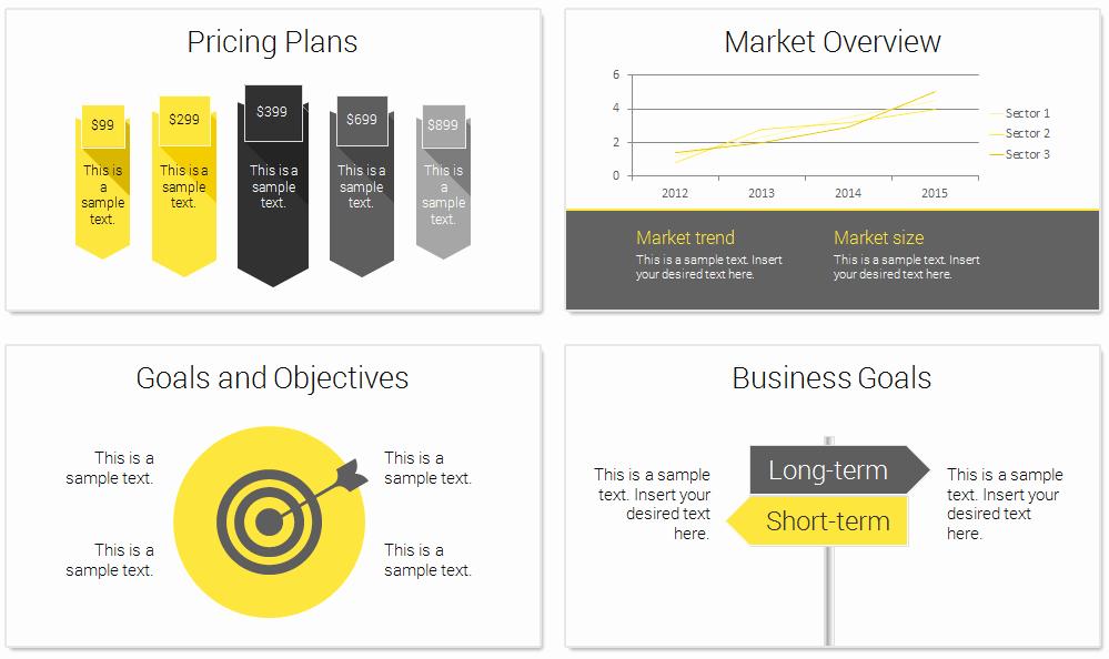 Business Plan Powerpoint Template Unique Modern Business Plan Powerpoint Template