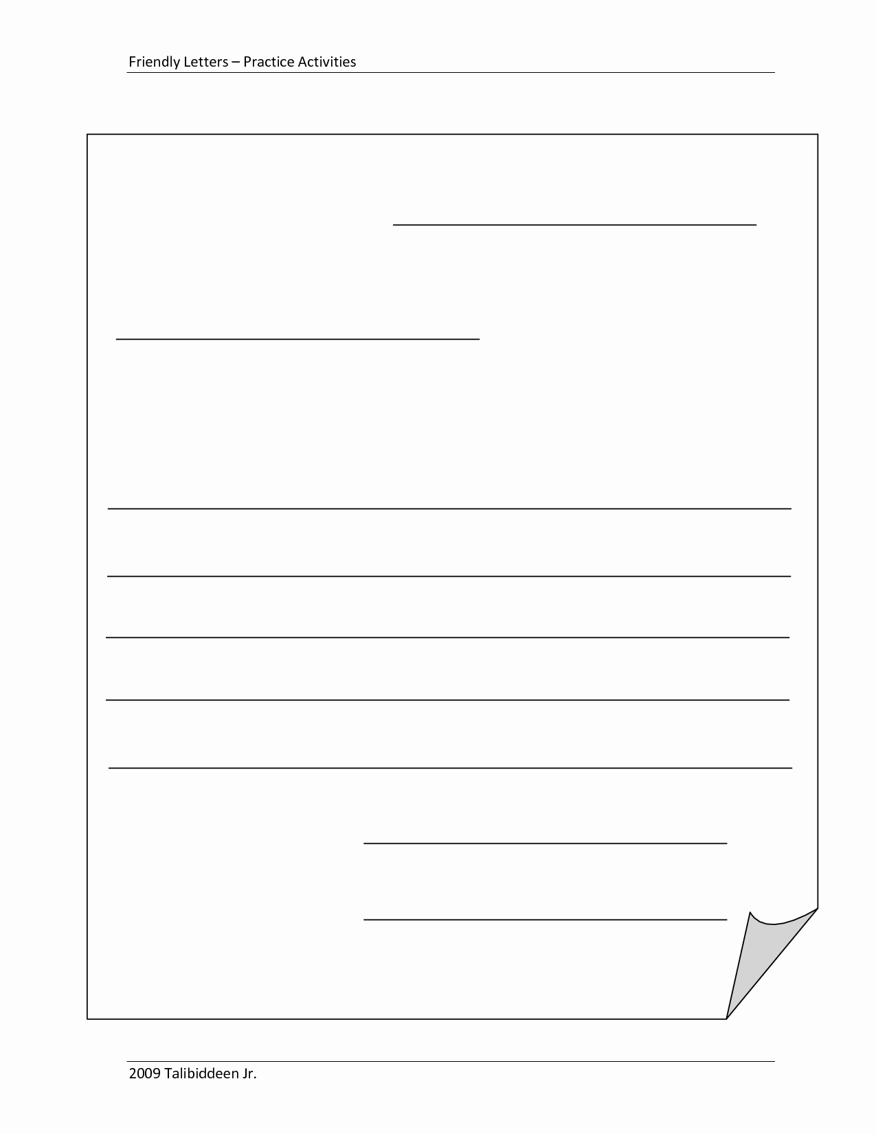 Business Plan Template for Kids Best Of Blank Letter Template for Kids