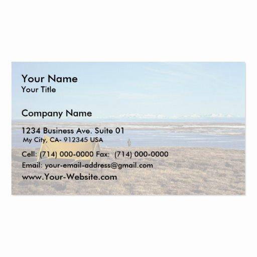 Campground Business Plan Template Fresh Camping Coastal Plains Business Card Template